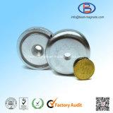 D16mm Magnetische Pot met Sterke Gesinterde Magneet NdFeB