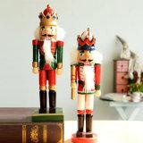 Beeldjes van de Hars van de Standbeelden van de Militair van de Notekraker van de Hars van de douane 7inch de Levensgrote
