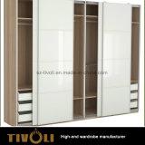 Singolo guardaroba con le mensole ed i cassetti Tivo-0066hw