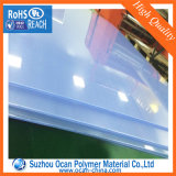 feuille rigide transparente en plastique dure épaisse de PVC de 5mm