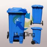 100 pattumiere di plastica utilizzate sanitarie esterne dello spreco del pedale del piede di litro