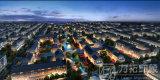 Визуализирование плана 3D города архитектурноакустическое
