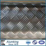 Un piatto di alluminio delle due barre con lo standard di ASTM