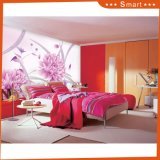 Ciel lumineux avec le papier peint de fleur pour le numéro à la maison de modèle de peinture à l'huile de décoration : Hx-5-033