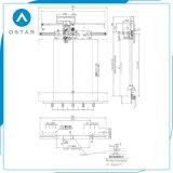 Тип механизм управления дверями Selcom лифта DC отверстия центра (OS31-02)