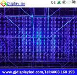 Gabinete de alumínio Rental interno do gabinete de indicador do diodo emissor de luz do indicador de diodo emissor de luz P5