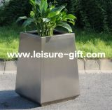 Jardim Decorate Flower Pot de Fo-9019 Stainless Steel com New Design