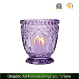 Double perfumado Heart Jar Candle para Home Decor
