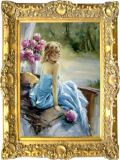 Peinture à l'huile d'impressionisme (06)