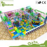 아이들 아이 실내 운동장 실내 나무로 되는 활주 운동장 Dlid226를 위한 새로운 디자인 제조자