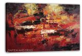 Nueva pintura al óleo abstracta del diseño (DSC09945)