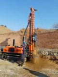 Equipamento Drilling de poço de água da esteira rolante 300meters
