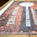 Изготовленный на заказ дешевым знамя сетки гибкого трубопровода напольный рекламировать пефорированное печатание