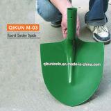 Зеленая M-03 покрашенная вокруг лопаты сада