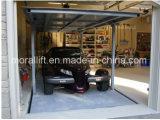 Незримый подъем автомобиля палубы двойника подъема стоянкы автомобилей
