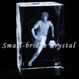 Bloque del balompié del laser del cristal 3D (ND7025)