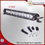 8inch 50W scelgono la barra chiara LED dell'automobile automatica di riga per 4X4 fuori strada, IP67, Rhos approvati