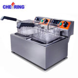 Commercial Two Tank Two Basket Deep Fryer