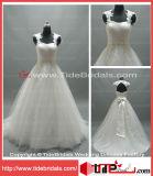 Robe de mariage de robe nuptiale de Tulle de veste de lacet (AS1979)