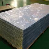 Hoja rígida transparente 0.3m m del PVC 4X8 del color natural de la impresión en offset para el rectángulo plegable