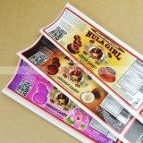 Servicio de impresión modificado para requisitos particulares de las escrituras de la etiqueta de las etiquetas engomadas