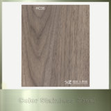 PVC покрыл деревянные продукты нержавеющей стали стального листа цвета конструкции