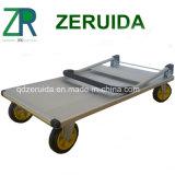 Caminhão de mão de alumínio resistente da plataforma