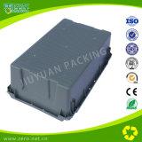 Le gabbie di plastica ampiamente usate con ferro tirano il recipiente di plastica