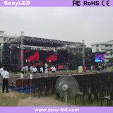 P3.91 im Freien farbenreicher druckgießenled Mietbildschirm für Stadium