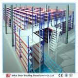 Cremagliera dell'acciaio della visualizzazione di pavimento del mezzanine del magazzino