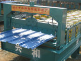 Tuile en acier de panneau de toiture formant la machine