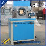 10&ldquo automático personalizado; Máquina de friso da mangueira hidráulica