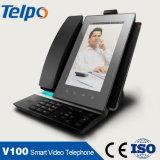 Heißes Verkauf VoIP Versorger-Geschäfts-androide Systems-Telefon IP-Video-Wechselsprechanlage