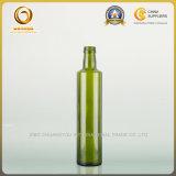 Bouteille en verre du pétrole 500ml vert-foncé vide de catégorie comestible (102)