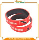 Wristband variopinto personalizzato del silicone del Wristband