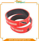 Kundenspezifischer bunter Wristband-SilikonWristband