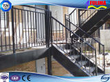 Stepstair d'acciaio prefabbricato/scala/Labber/scala per l'edificio per uffici (SSW-S-002)