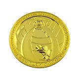 A annoncé la pièce de monnaie en alliage de zinc avec l'émail mol