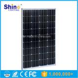Modules solaires monocristallins de panneau de picovolte de piles solaires de la haute performance 100W