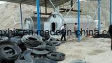 Planta de petróleo da pirólise do pneumático 5 toneladas que recicl o pneumático Waste