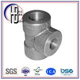 Ajustage de précision de pipe convenable de tuyauterie de té d'acier inoxydable de solides solubles