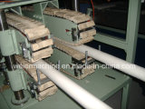Machine d'extrusion de doubles pipes de PVC de plastique