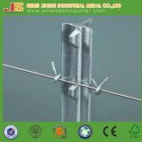 La vente chaude d'usine de la Chine a peint les postes de T cloutés par métal