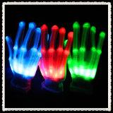 La Navidad ligera de los guantes mágicos para la luz del guante de los niños LED