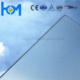 3.2mm moderou o vidro solar desobstruído super do baixo ferro para o painel solar