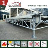 천막 구조를 위한 모듈 조정가능한 마루 시스템