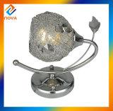 Weinlese-Eisen-Halter-Licht-Kristallwand-Lampe