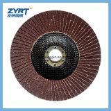 Disco de la solapa para la rueda de cerámica de la solapa del acero inoxidable