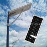Lumière IP65 extérieure les meilleurs réverbères solaires Integrated des prix 5W-120W