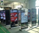 49, 50, 55, 65, 75, 선수 지면 입상, 디지털 Signage 전시를 광고하는 85 인치 LCD